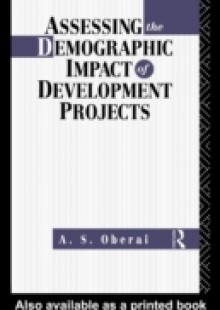 Обложка книги  - Assessing the Demographic Impact of Development Projects