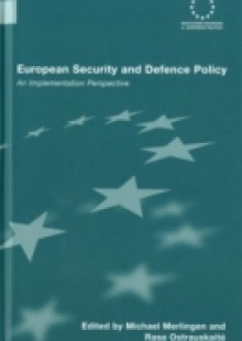 Обложка книги  - European Security and Defence Policy