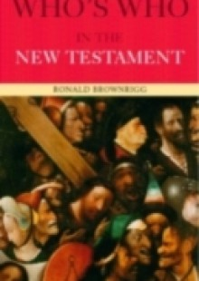 Обложка книги  - Who's Who in the New Testament
