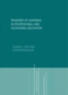 Обложка книги  - Transfer of Learning in Professional and Vocational Education