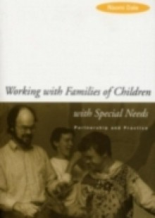 Обложка книги  - Working with Families of Children with Special Needs