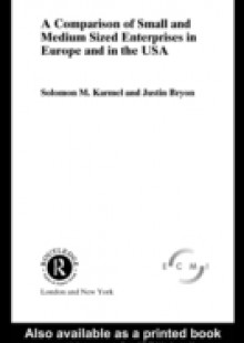 Обложка книги  - Comparison of Small and Medium Sized Enterprises in Europe and in the USA