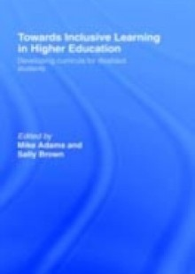 Обложка книги  - Towards Inclusive Learning in Higher Education