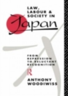 Обложка книги  - Law, Labour and Society in Japan