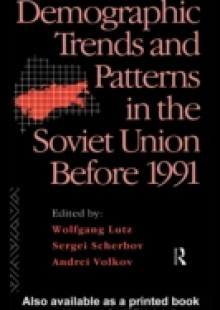 Обложка книги  - Demographic Trends and Patterns in the Soviet Union Before 1991