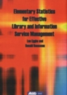 Обложка книги  - Elementary Statistics for Effective Library and Information Service Management