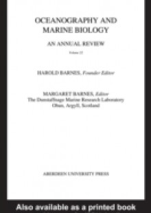 Обложка книги  - Oceanography and Marine Biology, An Annual Review, Volume 22