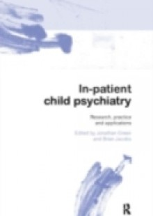 Обложка книги  - In-patient Child Psychiatry