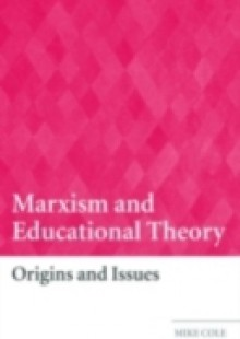 Обложка книги  - Marxism and Educational Theory