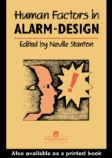 Обложка книги  - Human Factors in Alarm Design