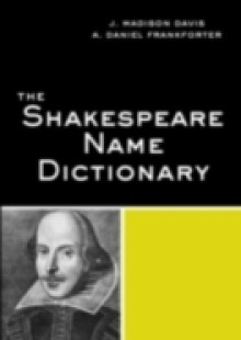 Обложка книги  - Shakespeare Name Dictionary