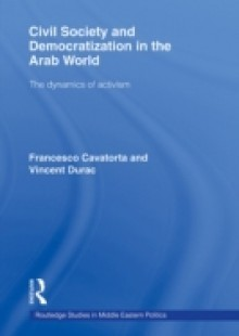 Обложка книги  - Civil Society and Democratization in the Arab World