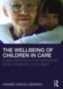 Обложка книги  - Wellbeing of Children in Care