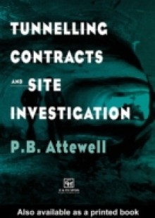 Обложка книги  - Tunnelling Contracts and Site Investigation
