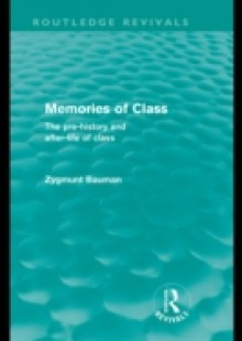 Обложка книги  - Memories of Class (Routledge Revivals)