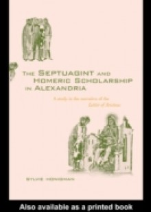 Обложка книги  - Septuagint and Homeric Scholarship in Alexandria