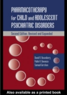 Обложка книги  - Pharmacotherapy for Child and Adolescent Psychiatric Disorders