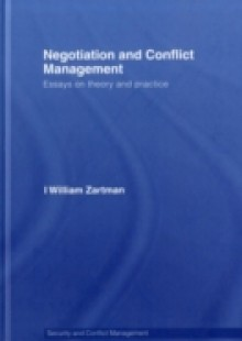 Обложка книги  - Negotiation and Conflict Management