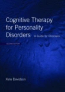Обложка книги  - Cognitive Therapy for Personality Disorders