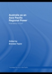 Обложка книги  - Australia as an Asia-Pacific Regional Power