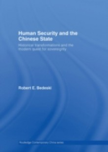Обложка книги  - Human Security and the Chinese State