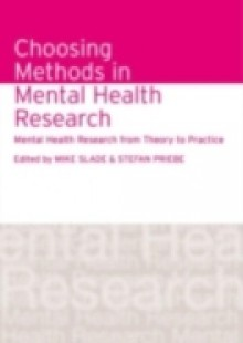 Обложка книги  - Choosing Methods in Mental Health Research