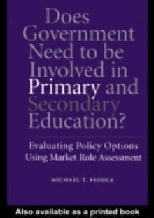 Обложка книги  - Does Government Need to be Involved in Primary and Secondary Education