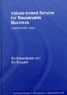 Обложка книги  - Values-based Service for Sustainable Business