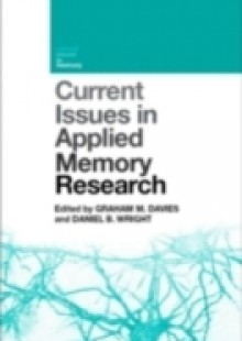Обложка книги  - Current Issues in Applied Memory Research