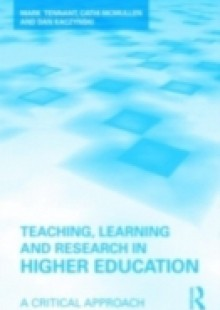 Обложка книги  - Teaching, Learning and Research in Higher Education