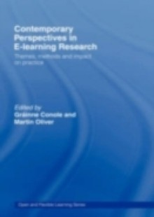 Обложка книги  - Contemporary Perspectives in E-Learning Research