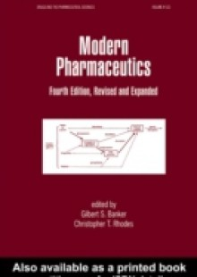Обложка книги  - Modern Pharmaceutics, Fourth Edition Revised and Expanded