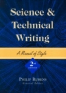 Обложка книги  - Science and Technical Writing