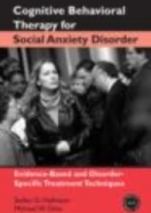 Обложка книги  - Cognitive Behavioral Therapy for Social Anxiety Disorder