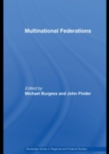 Обложка книги  - Multinational Federations
