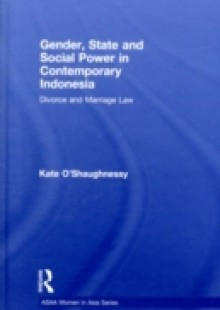 Обложка книги  - Gender, State and Social Power in Contemporary Indonesia