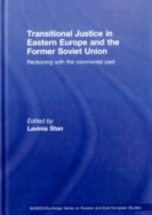 Обложка книги  - Transitional Justice in Eastern Europe and the former Soviet Union