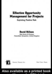 Обложка книги  - Effective Opportunity Management for Projects