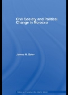Обложка книги  - Civil Society and Political Change in Morocco