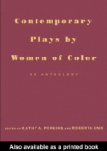 Обложка книги  - Contemporary Plays by Women of Color