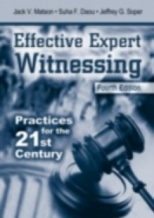 Обложка книги  - Effective Expert Witnessing, Fourth Edition