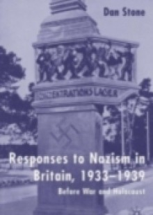 Обложка книги  - Responses to Nazism in Britain, 1933-1939