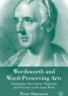 Обложка книги  - Wordsworth and Word-Preserving Arts