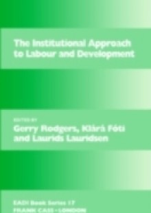 Обложка книги  - Institutional Approach to Labour and Development