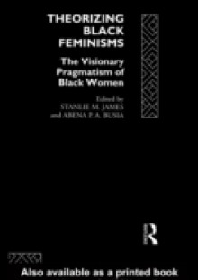 Обложка книги  - Theorizing Black Feminisms