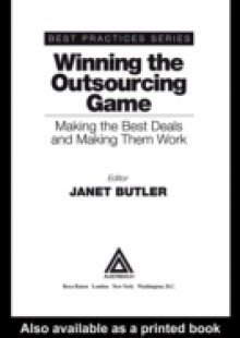 Обложка книги  - Winning the Outsourcing Game