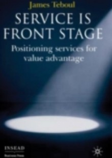 Обложка книги  - Service is Front Stage