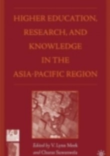 Обложка книги  - Higher Education, Research, and Knowledge in the Asia-Pacific Region