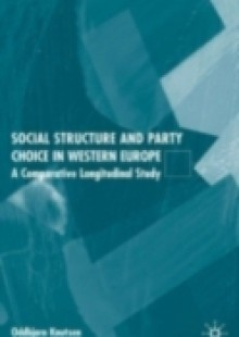 Обложка книги  - Social Structure and Party Choice in Western Europe