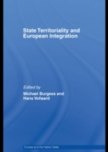 Обложка книги  - State Territoriality and European Integration